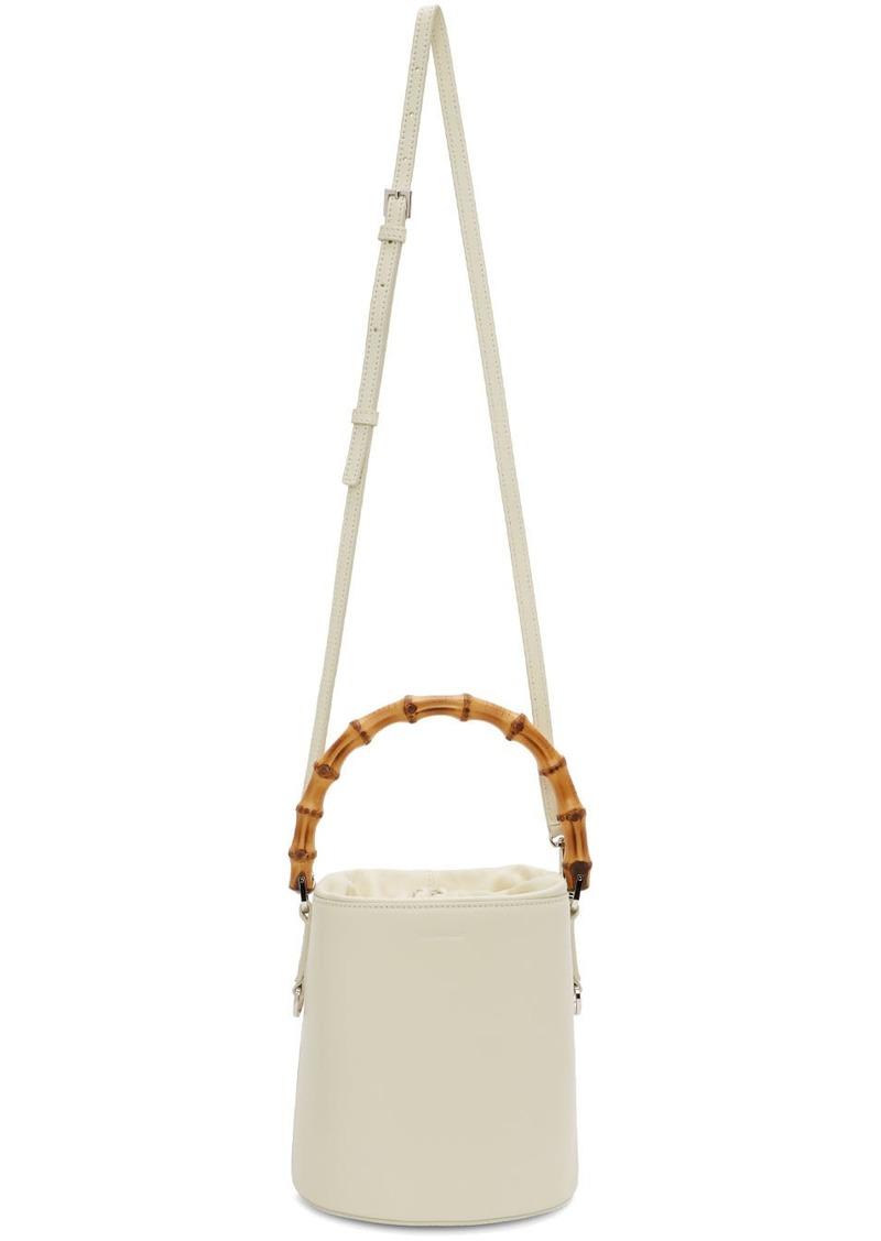 Jil Sander Off-White Small Bucket Bag