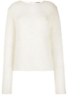 Jil Sander open knit jumper
