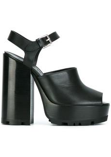 Jil Sander open platform sandals