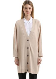 Jil Sander Oversized Cashmere Long Cardigan