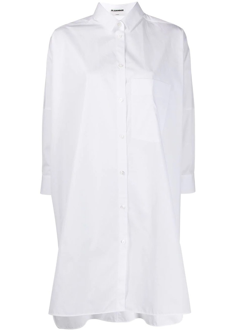 Jil Sander oversized cotton shirt