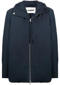 Jil Sander oversized padded zipped jacket