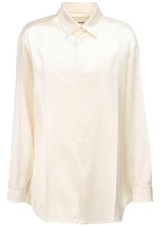 Jil Sander Oversized Satin Shirt