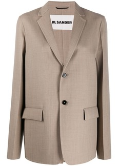 Jil Sander oversized single-breasted blazer