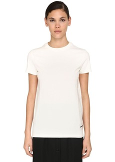 Jil Sander Pack Of 3 Organic Cotton Jersey T-shirts