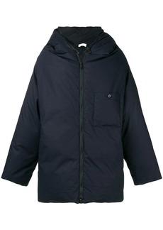 Jil Sander padded hooded coat