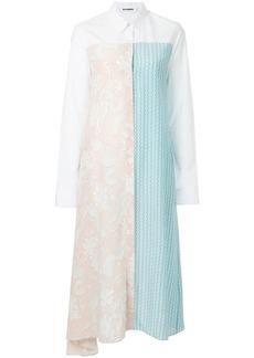 Jil Sander panelled shirt dress