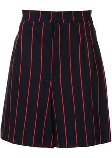 Jil Sander pinstripe chino shorts