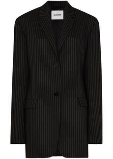 Jil Sander x Browns 50 pinstripe oversized blazer