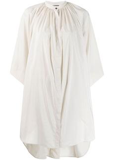 Jil Sander pinstripe oversized shirt