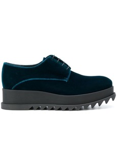Jil Sander platform lace-up shoes