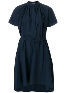 Jil Sander pleat detail shirt dress
