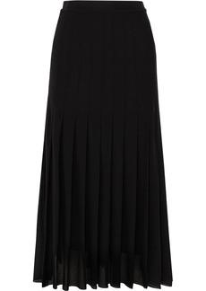 Jil Sander Pleated Georgette Midi Skirt