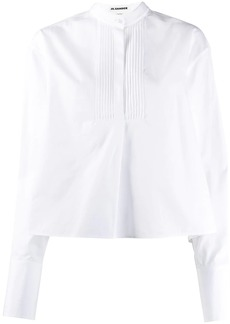 Jil Sander pleated long-sleeve shirt