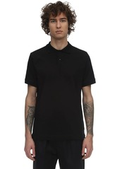 Jil Sander Plus Elasticized Jersey Polo Shirt