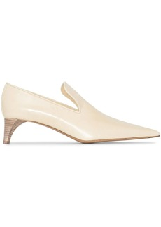 Jil Sander pointed 45mm loafer-style pumps