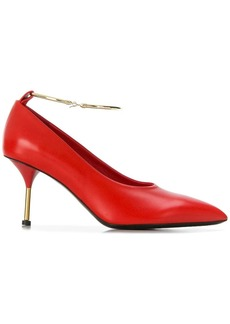 Jil Sander pointed anklet pumps