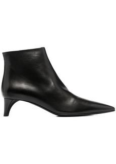Jil Sander pointed-toe mid-heel boots