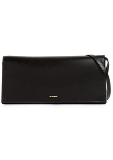 Jil Sander Prism Md Leather Shoulder Bag