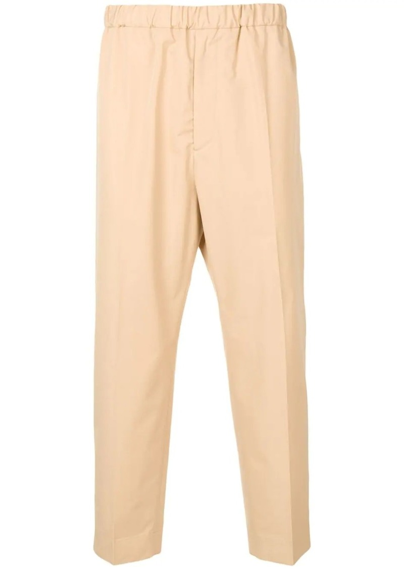 Jil Sander pull-on trousers