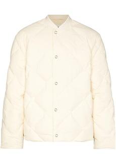 Jil Sander quilted bomber jacket