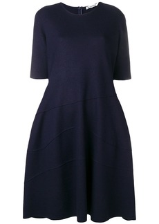 Jil Sander raised seam shift dress
