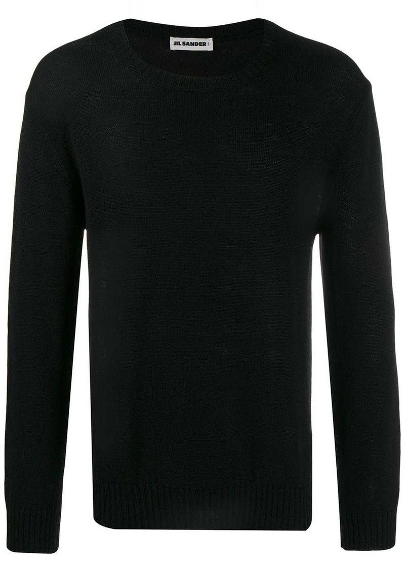 Jil Sander relaxed fit knitted sweater