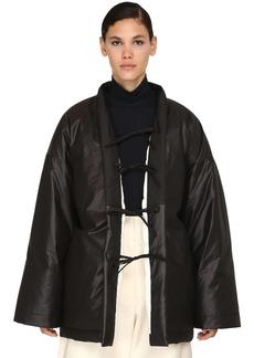Jil Sander Reversible Quilted Cotton Blend Coat