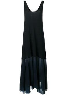 Jil Sander ribbed maxi dress