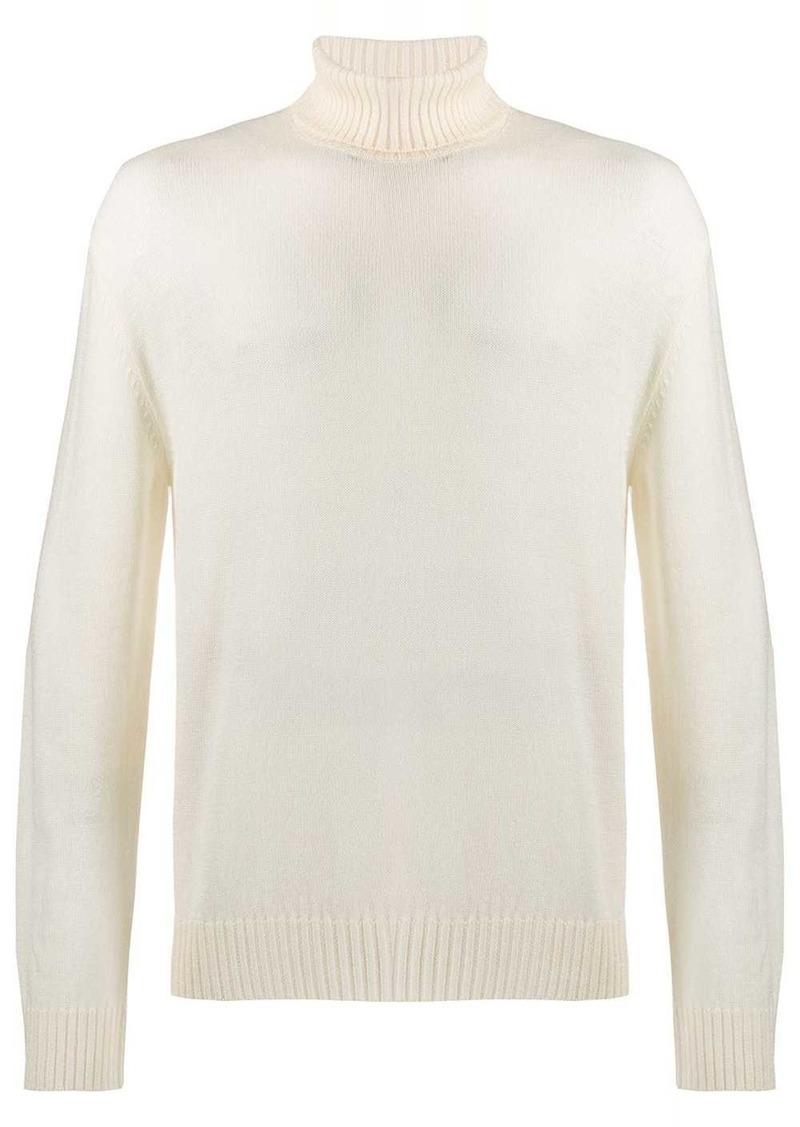 Jil Sander ribbed roll-neck knitted jumper
