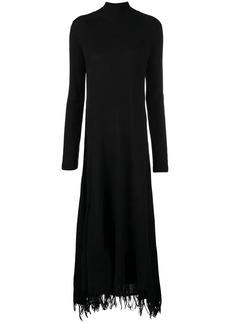 Jil Sander roll neck sweater dress