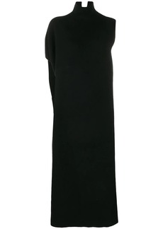 Jil Sander roll neck sweater dress