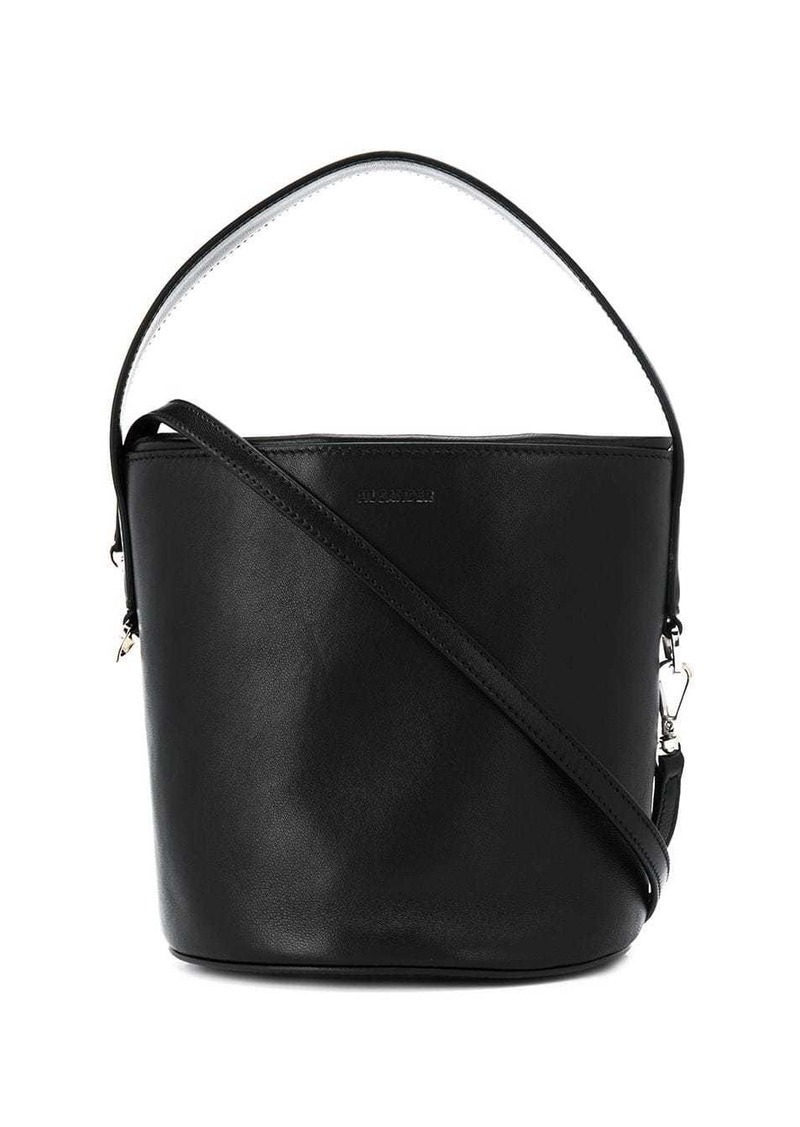 Jil Sander round bucket bag