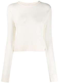 Jil Sander round-neck fine-knit jumper