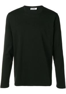 Jil Sander round neck sweatshirt