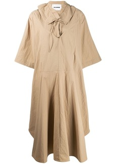 Jil Sander ruffle collar dress