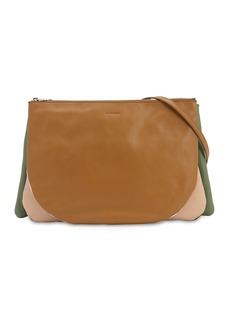 Jil Sander Sandwich Smooth Leather Crossbody Bag