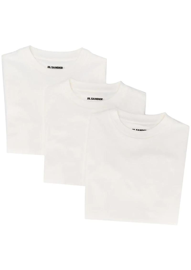 Jil Sander set-of-three T-shirts