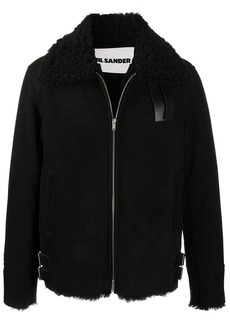 Jil Sander shearling-lined jacket
