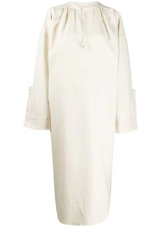 Jil Sander shift mid-length dress