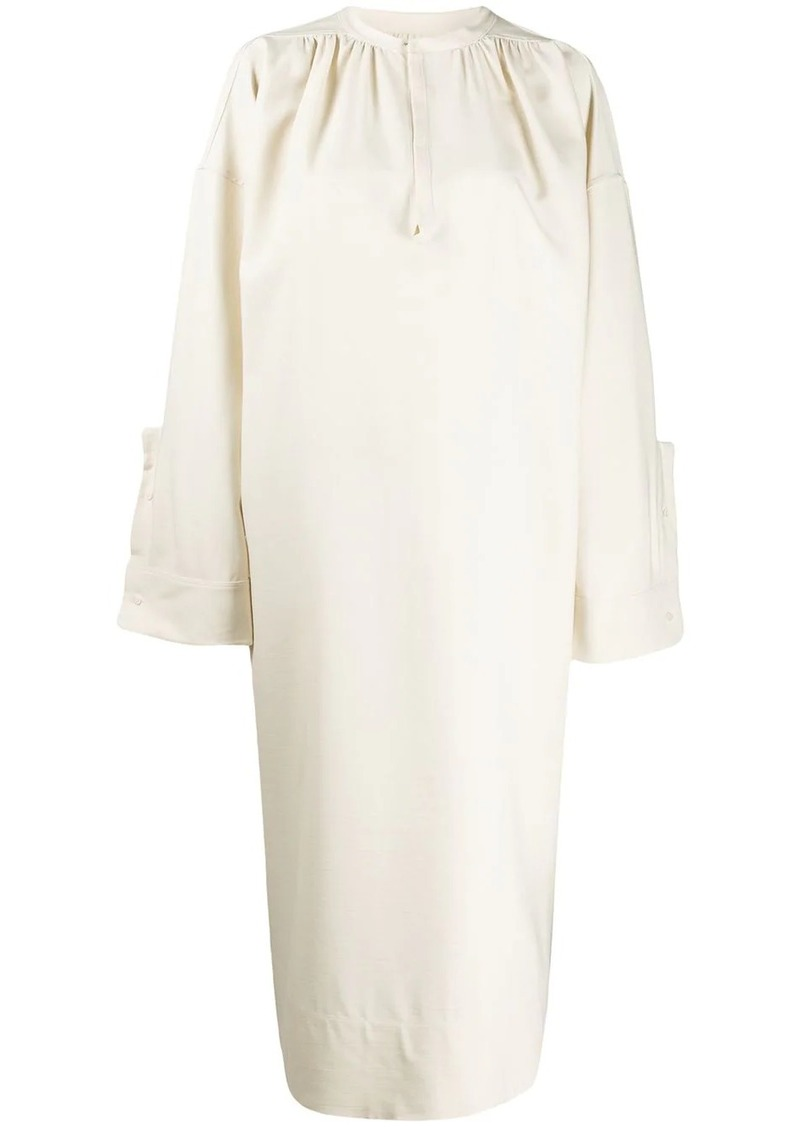Jil Sander shift mid-length dress
