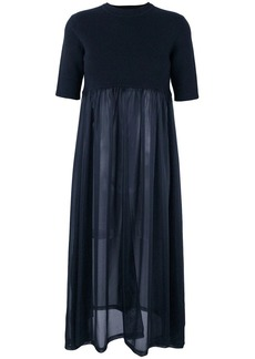 Jil Sander short-sleeve flared dress