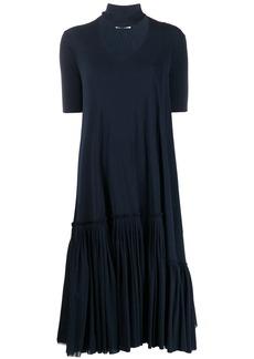 Jil Sander short-sleeve midi dress