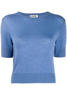 Jil Sander short-sleeved knitted top