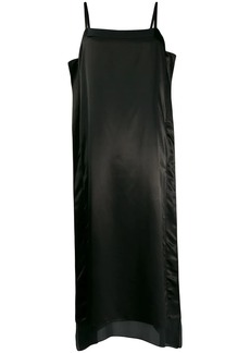 Jil Sander silk midi dress