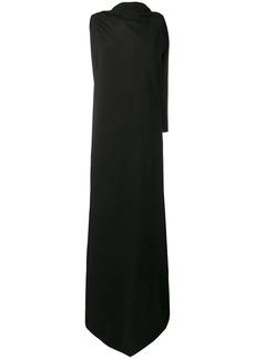 Jil Sander sleeveless wrap maxi dress