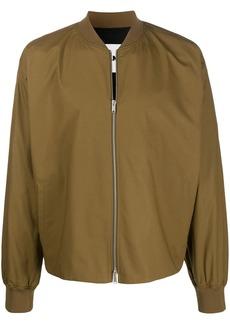 Jil Sander slim fit bomber jacket