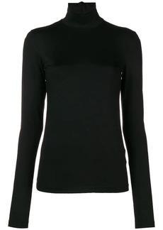 Jil Sander slim fit turtleneck blouse