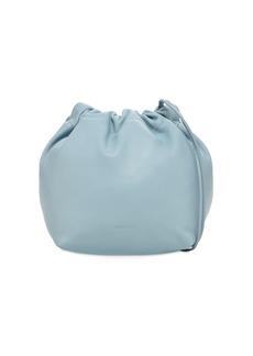 Jil Sander Sm Leather Crossbody Bag