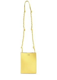 Jil Sander Sm Tangle Leather Shoulder Bag